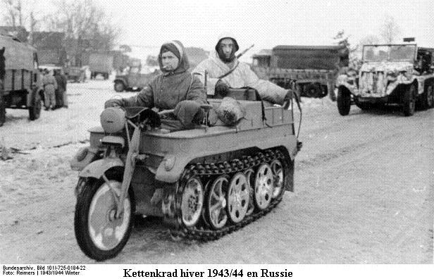 SdKfz 2 - Kettenkraftrad HK 101 Bundes77