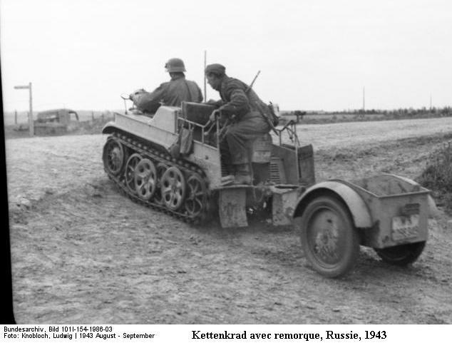 SdKfz 2 - Kettenkraftrad HK 101 Bundes78