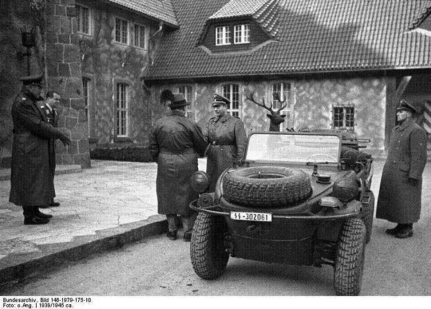 Volkswagen Schwimmwagen Bundes79