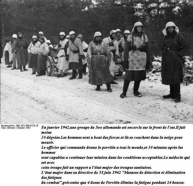 """Le """"Pervitin"""" et la Wehrmacht Bundes83"""