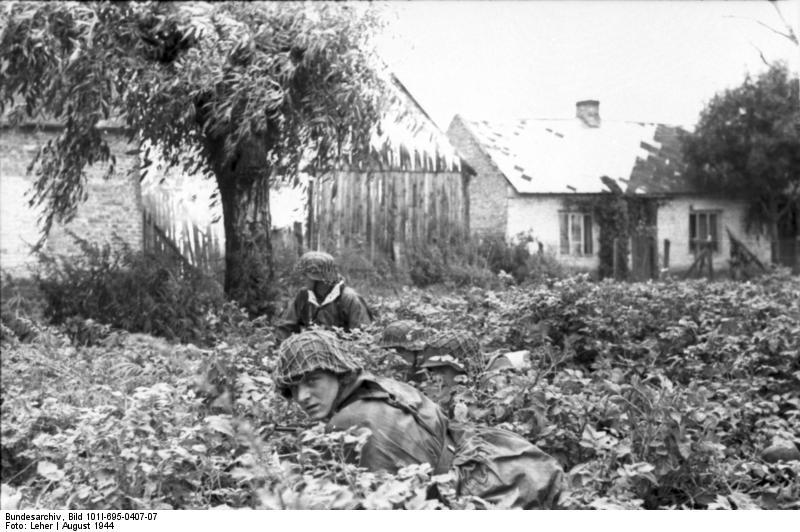 Bundesarchiv - Warschauer Aufstand - Heer aout 1944 Bundes89