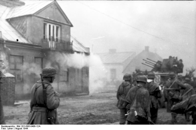 Bundesarchiv - Warschauer Aufstand - Heer aout 1944 Bundes98