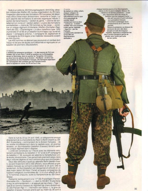 Waffen ss - Uniforme Grenadier Div Charlemagne - Berlin 45 Charle12