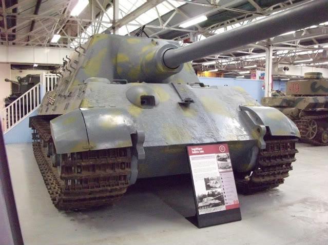 Jagdtiger - Bovington Museum - UK  Dscf2611