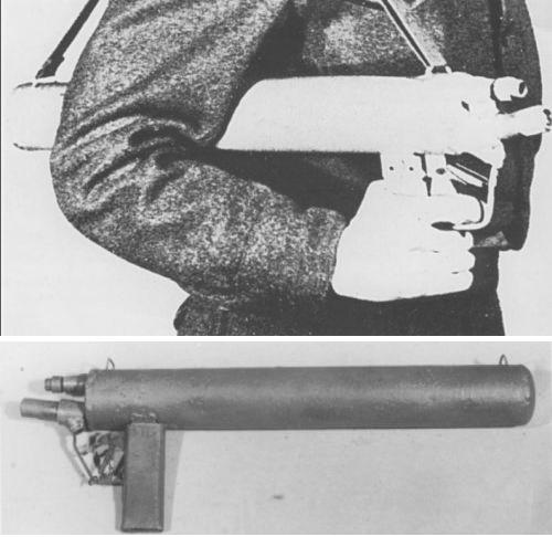 Einstossflammenwerfer 46 Flame111