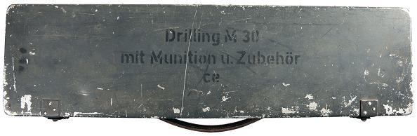 Luftwaffe M30 Drilling Ghn11-10