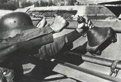 Panzerhandmine - Hafthohlladung 3 Haftho13