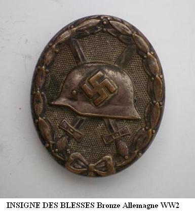 Insigne Badge des blessés -WH Insign14
