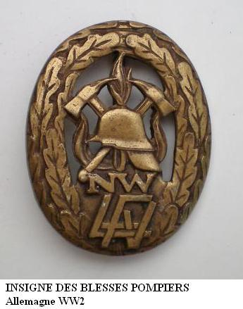 Insigne Badge des blessés -WH Insign15