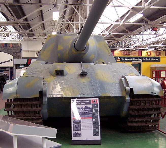 Jagdtiger - Bovington Museum - UK  Jagdti10
