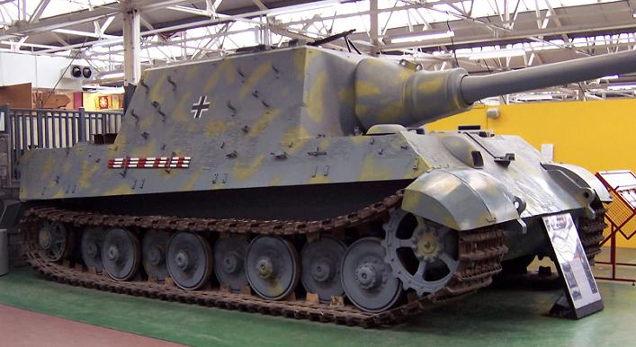 Jagdtiger - Bovington Museum - UK  Jagdti11
