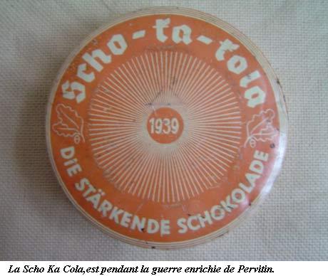 """Le """"Pervitin"""" et la Wehrmacht Kola1010"""