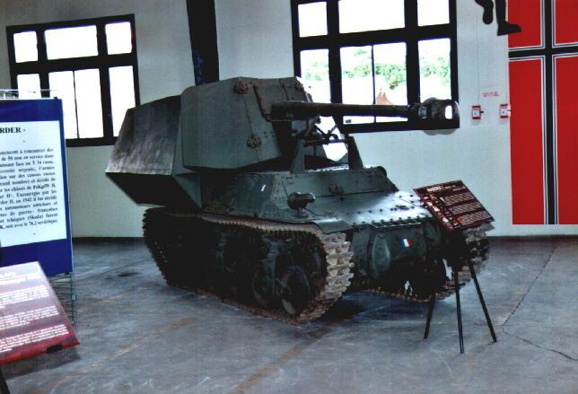 SdKfz 135 Lorraine Schlepper (f) 7.5cm Pak40  - Saumur - Fr Lorrai10