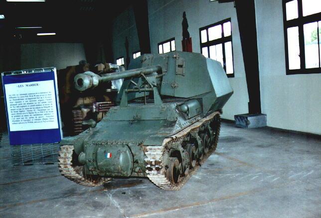 SdKfz 135 Lorraine Schlepper (f) 7.5cm Pak40  - Saumur - Fr Lorrai15