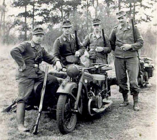 Luftwaffe M30 Drilling Lw20hu10
