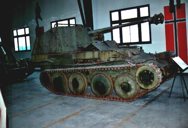 Marder III Ausf.M - Musée de Saumur - Fr Marder30
