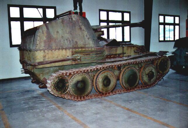 Marder III Ausf.M - Musée de Saumur - Fr Marder35