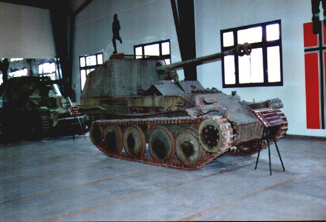 Marder III Ausf.M - Musée de Saumur - Fr Marder38