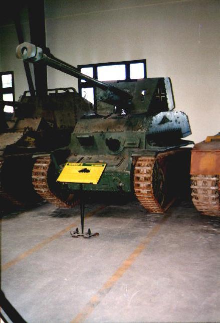 Marder III Panzerjäger 38(t)7.62cm Pak36(r) - Saumur - Fr Marder39