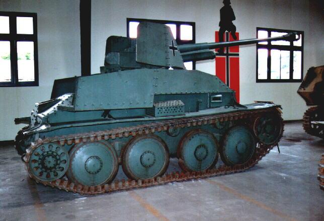 Marder III Panzerjäger 38(t)7.62cm Pak36(r) - Saumur - Fr Marder40