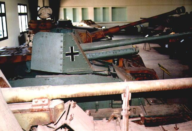 Marder III Panzerjäger 38(t)7.62cm Pak36(r) - Saumur - Fr Marder43