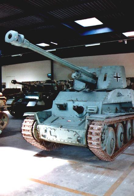 Marder III Panzerjäger 38(t)7.62cm Pak36(r) - Saumur - Fr Marder47