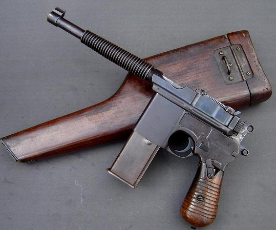 Mauser C96 Mauser12