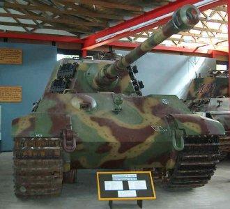 Tiger II  - Munster Museum - DE Museum11