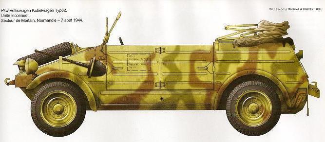 Volkswagen Kübelwagen Num15010