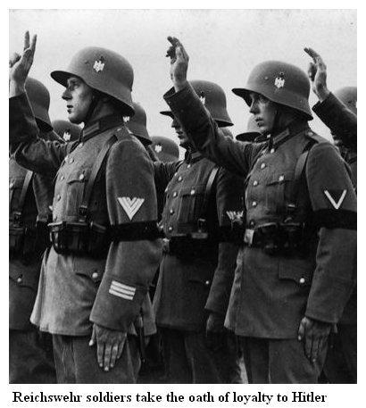 La Reichswehr - (1919 /1935) Oath10