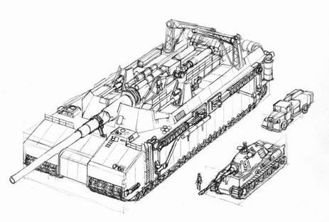 Landkreuzer P. 1000 Ratte P-100010