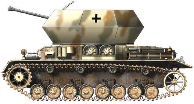 Flakpanzer IV Östwind P122