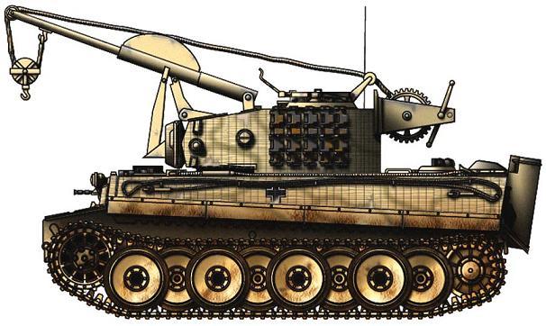 Bergepanzer VI BergeTiger P1_112