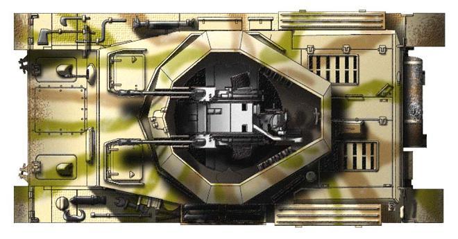 Flakpanzer IV Wirbelwind P218