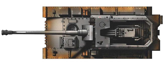 """12.8 cm L/61 """"Sturer Emil"""" P222"""