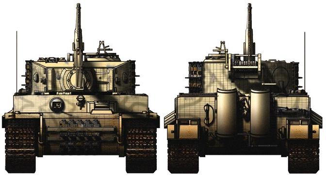 Bergepanzer VI BergeTiger P313