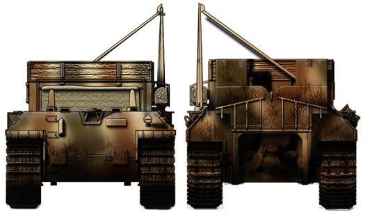 Bergepanzer V Bergepanther P314