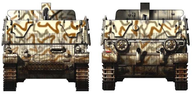 3.7 cm Flakvierling auf Fahrgestell Panzerkampfwagen IV P316