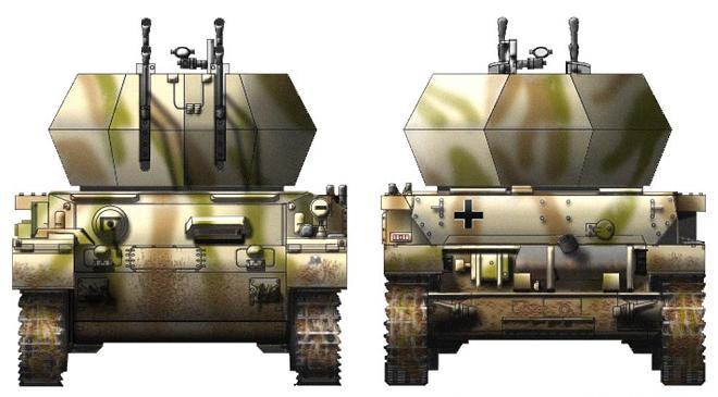 Flakpanzer IV Wirbelwind P317