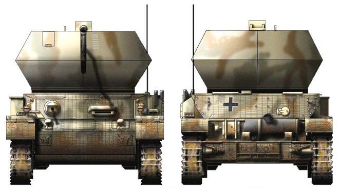 Flakpanzer IV Östwind P318