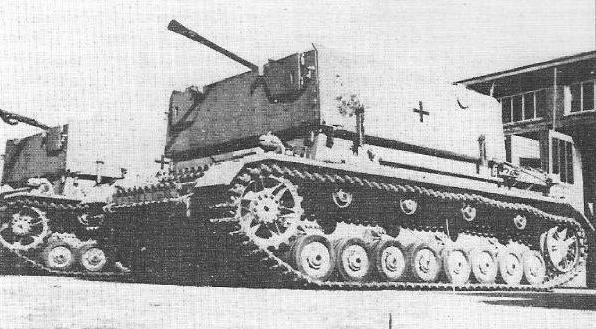 3.7 cm Flakvierling auf Fahrgestell Panzerkampfwagen IV Panzer38