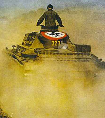 la Blitzkrieg - Définition Panzer40