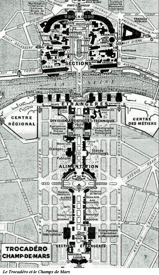 L'Exposition Internationale de 1937 - Paris Plan0410