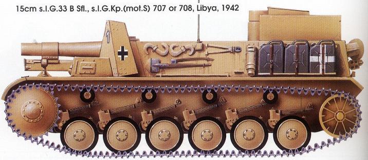15-cm schwere Infanterie Geschutz 33 Pzii110