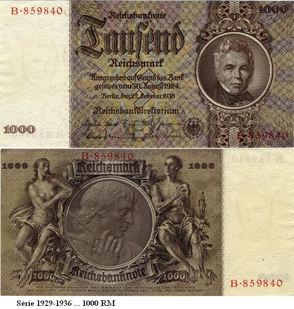 Le Reichsmark - (1924/1948) Reichs20