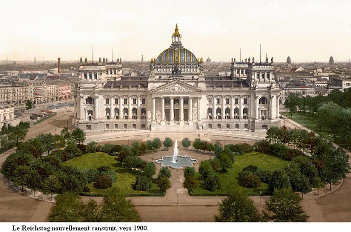 Le Palais du Reichstag Reichs25