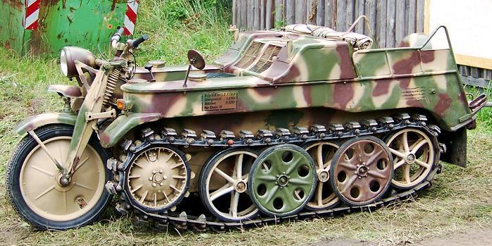 SdKfz 2 - Kettenkraftrad HK 101 Sdkfz-10