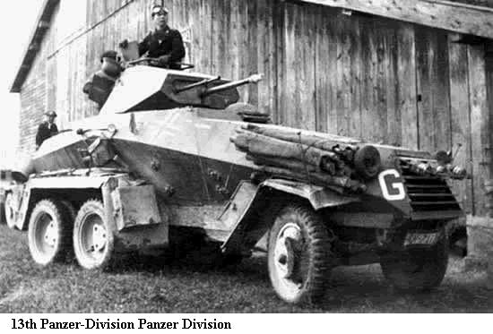 13e Panzer Division Sdkfz-10