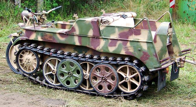 SdKfz 2 - Kettenkraftrad HK 101 Sdkfz-11