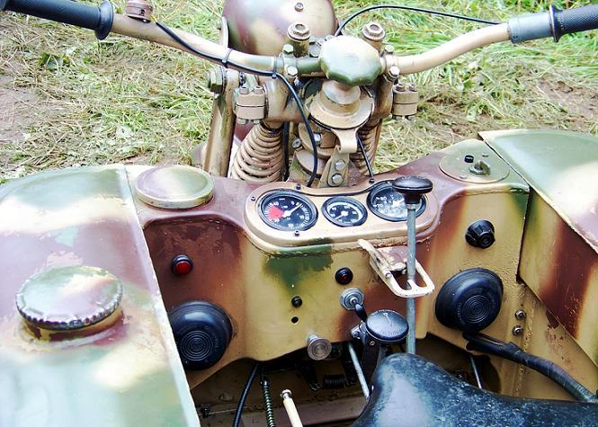 SdKfz 2 - Kettenkraftrad HK 101 Sdkfz-12